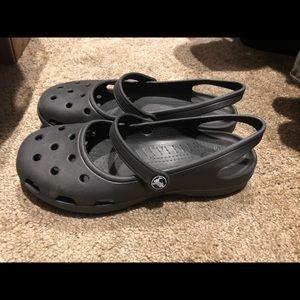 Crocs maryjane black